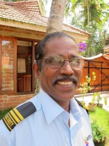 Smiling image of Arjunan