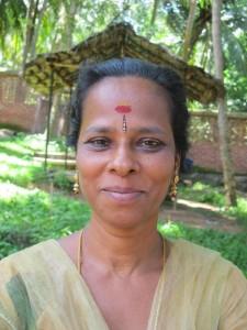 Smiling image of Chandralekha