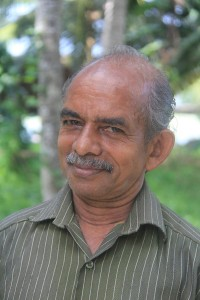 Smiling image of Raveendran