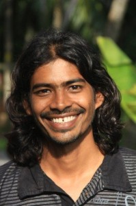 smiling image of Karthik