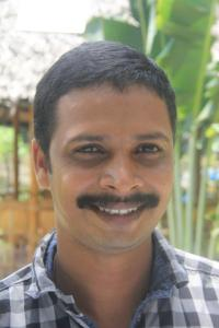 Smiling image of Santhosh