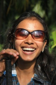 smiling image of Sristi