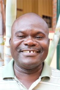 Smiling image of David