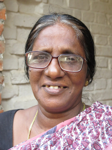 Smiling image of Geetha