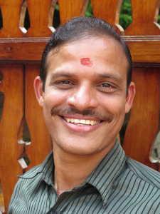 Smiling image of Sunil