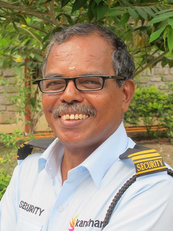 Sunilkumaran Thampi, Security