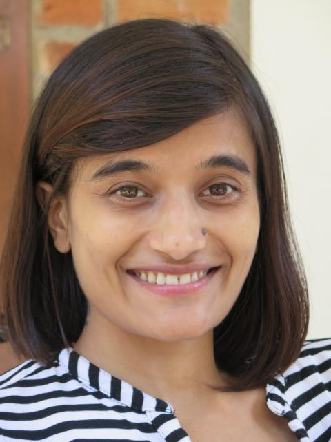 Smiling picture of Amrita Gyawali