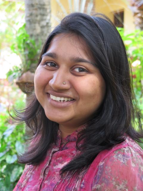 Smiling picture of Aparna Gopan