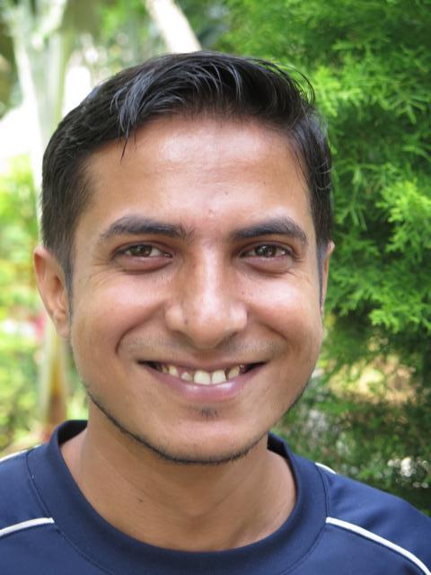 Smiling picture of Neeraj Kumar