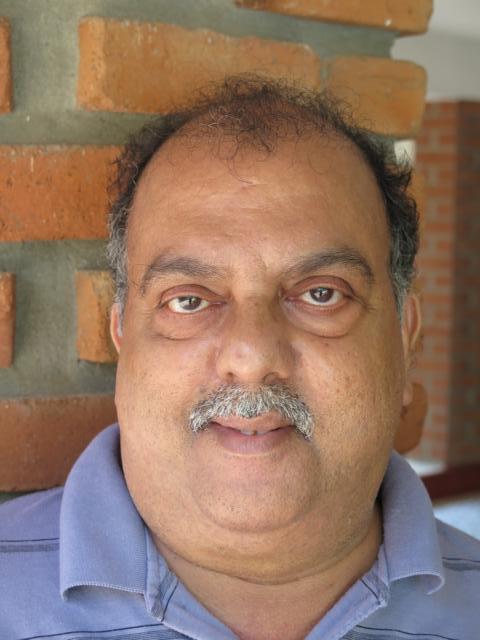 Smiling picture of Rajasekharan