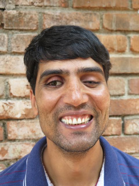 Smiling picture of Rajendra