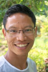 Smiling image of Imkong