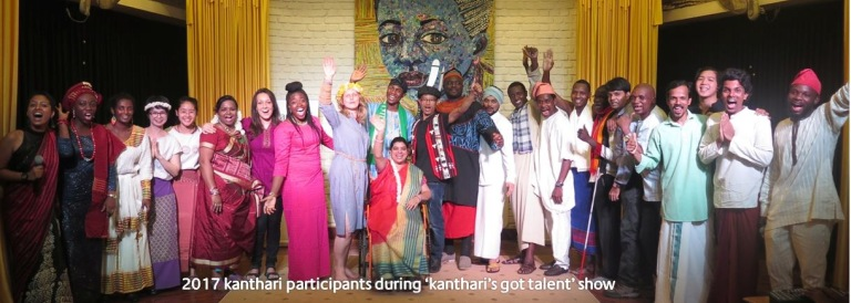kanthari participants 2017 group photo after talent show