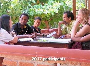 kanthari 2017 participants group discussion image