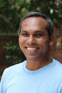 Smiling image of Bharat Wankhade
