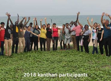 2nd Quarterly newsletter 18, image of 2018 kanthari participants