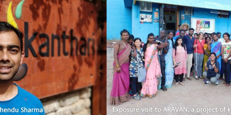 Image of one group of participants visiting Aravan, project of the graduate