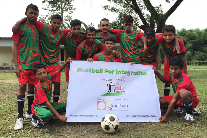 Football for Change in Bangladesh